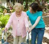 Cuidado de personas mayores y niños - foto