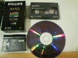 S 8.cinta 8 mm vhs vhsc mini dv beta dvd - foto