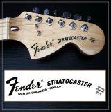 Fender stratocaster decal vint - foto