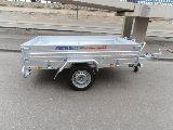 Remolque mixto carga-motos galvanizado - foto