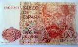 Billetes de 2000 y 500 ptas - foto