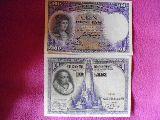 Antiguos billetes de 100 ptas - foto