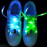 Cordones led nylon, luminosos - foto