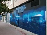 decoración graffiti - foto