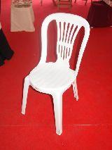 SILLAS CATERING PVC PLASTICO - foto