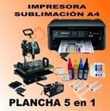 Kit impresora sublimacion + plancha - foto