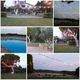 Iluminacion para bodas navidad - foto