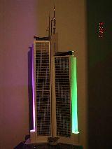 Maqueta de rascacielos E:1/87 - foto
