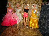 lote de 4 barbie del 1966 - foto