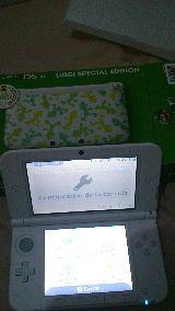 Consola Nintendo 3ds xl Luigi como nueva - foto
