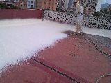 Proyeccion de espuma de poliuretano - foto