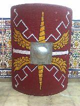 Scutum y parma -escudos romanos e íberos - foto