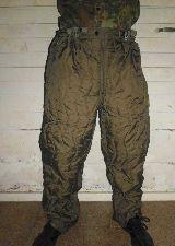 Pantalones térmicos ejército alemán - foto