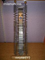 ORGANIZADOR CD madera/acero - foto