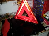 Triángulos Señal Emergencia - foto