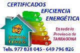 Certificado Eficiencia Energética - foto