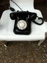 TelÉfono antiguo de sobremesa espaÑol - foto