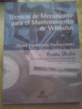 LIBRO TÉCNICAS DE MECANIZADO - foto