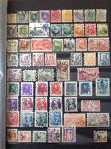 Colección de sellos - foto