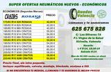 Neumaticos nuevos  42 EUR precio final - foto