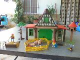 playmobil granja medieval referencia 341 - foto