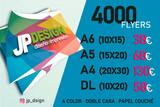 1000 tarjetas 18 eur, 5000 flyers 35 eur - foto
