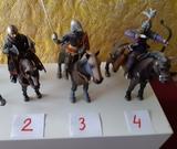 caballeros medievales de Altaya - foto