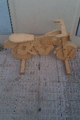 moto de madera - foto