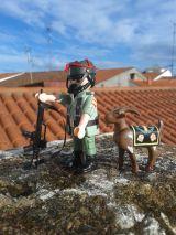 Playmobil custom soldado militar español - foto