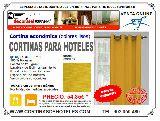 CORTINAS PARA HOTELES OPACAS IGNÍFUGAS - foto