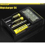 Cargador bateria nitecore digital D4 - foto