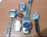 5 relojes vintage de cuerda o pulso - foto