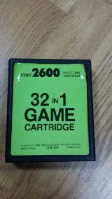 Juego de atari 32 in 1 game cartridge - foto