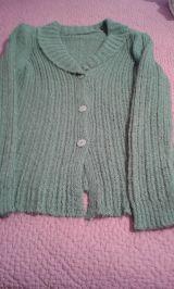 --// chaq punto verde y jersey tipo polo - foto