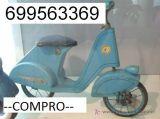 Compro coches de pedales antiguos - foto