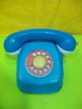 Telefono de juguete antiguo de kioscos - foto