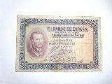 Billete de 25 pesetas de 12 octubre 1926 - foto