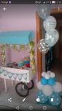 Animadora infantil- decoración  globos - foto