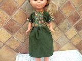 nancy vestido de pana verde de nancy de - foto