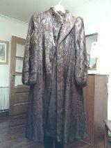 Chaqueton  piel  nutria ( OTTER COAT ) - foto