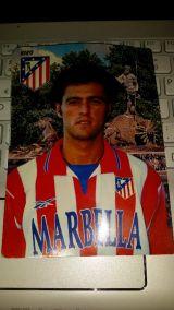 Postal Kiko del Atlético de Madrid - foto