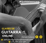 CLASE GUITARRA Y CANTO ONLINE SKIPE ZOOM - foto