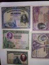 Estupenda coleccion de billetes de 1928 - foto