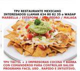 Vendo tpv bar mexicano con comandero - foto