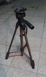 Trípode fotografía/video aluminio 153cm - foto