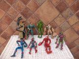lote de 8 spiderman de marvel - foto