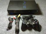 PS2 (FAT) + 10 juegos - foto