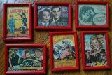 Programas De Cine Antiguos Enmarcados - foto