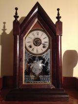 Reloj antiguo de capilla de 1913 - foto
