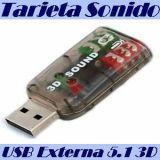 tarjetas de sonido 5.1 usb 2.0 - foto